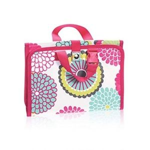 Thirty-One Timeless Beauty Travel Bag-Bubble Bloom